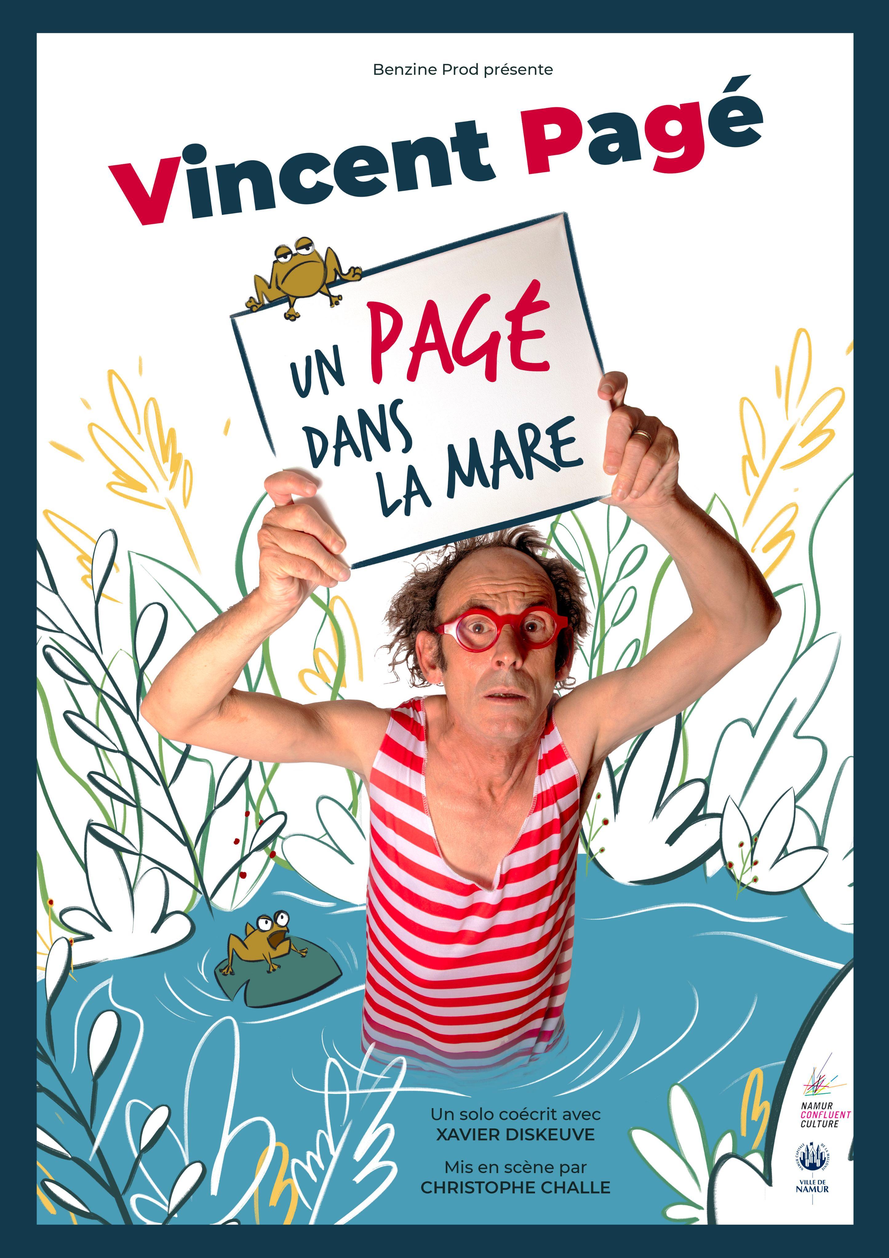 """Résultat de recherche d'images pour """"Vincent Pagé Un Pagé dans la Mare Namur Photos"""""""